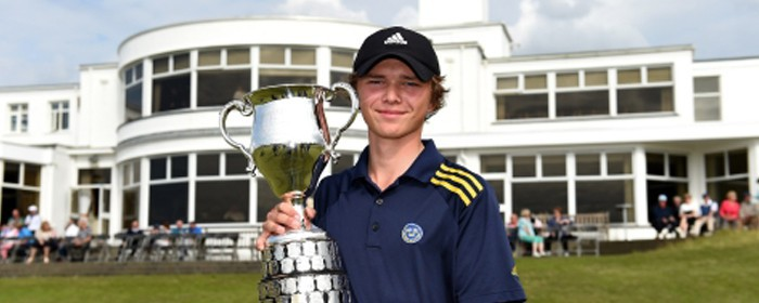 Marcus Svensson wins the 2015 Boys Amateur Championship