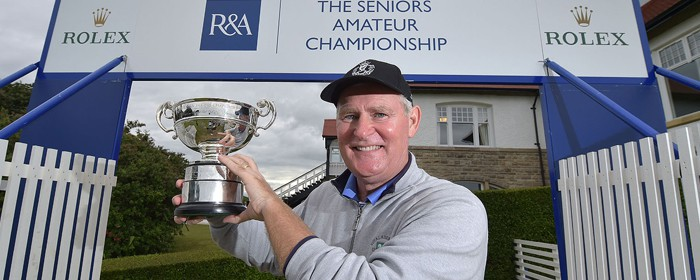Patrick Tallent claims Seniors Amateur Championship