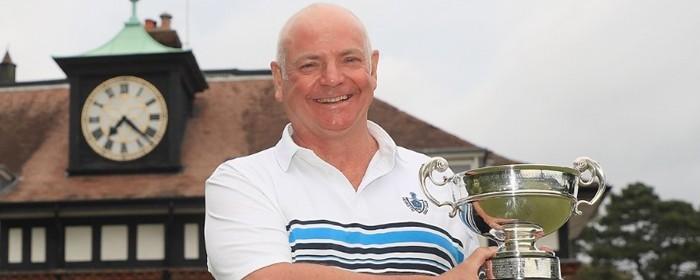 Bryan Hughes wins the Seniors Amateur Championship