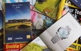 Golf Monthly and Strokesaver joined by Patrons Nikon, Rolex and Doosan