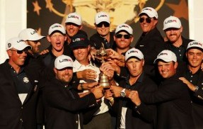 America Wins the Ryder Cup